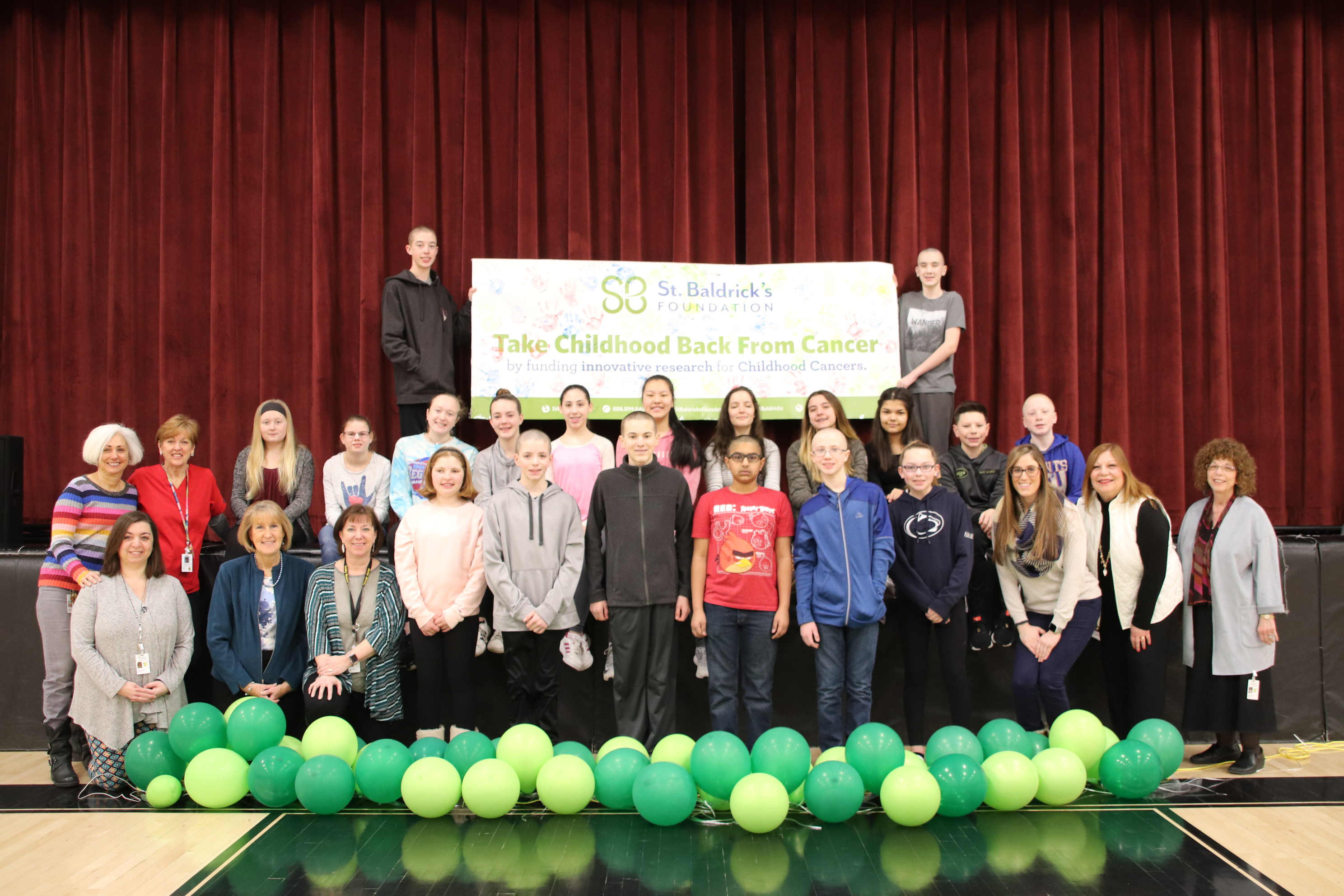AMITY REGIONAL SCHOOL DISTRICT NO. 5 ST. BALDRICK'S FOUNDATION OF GIVING HAIR AND HOPE