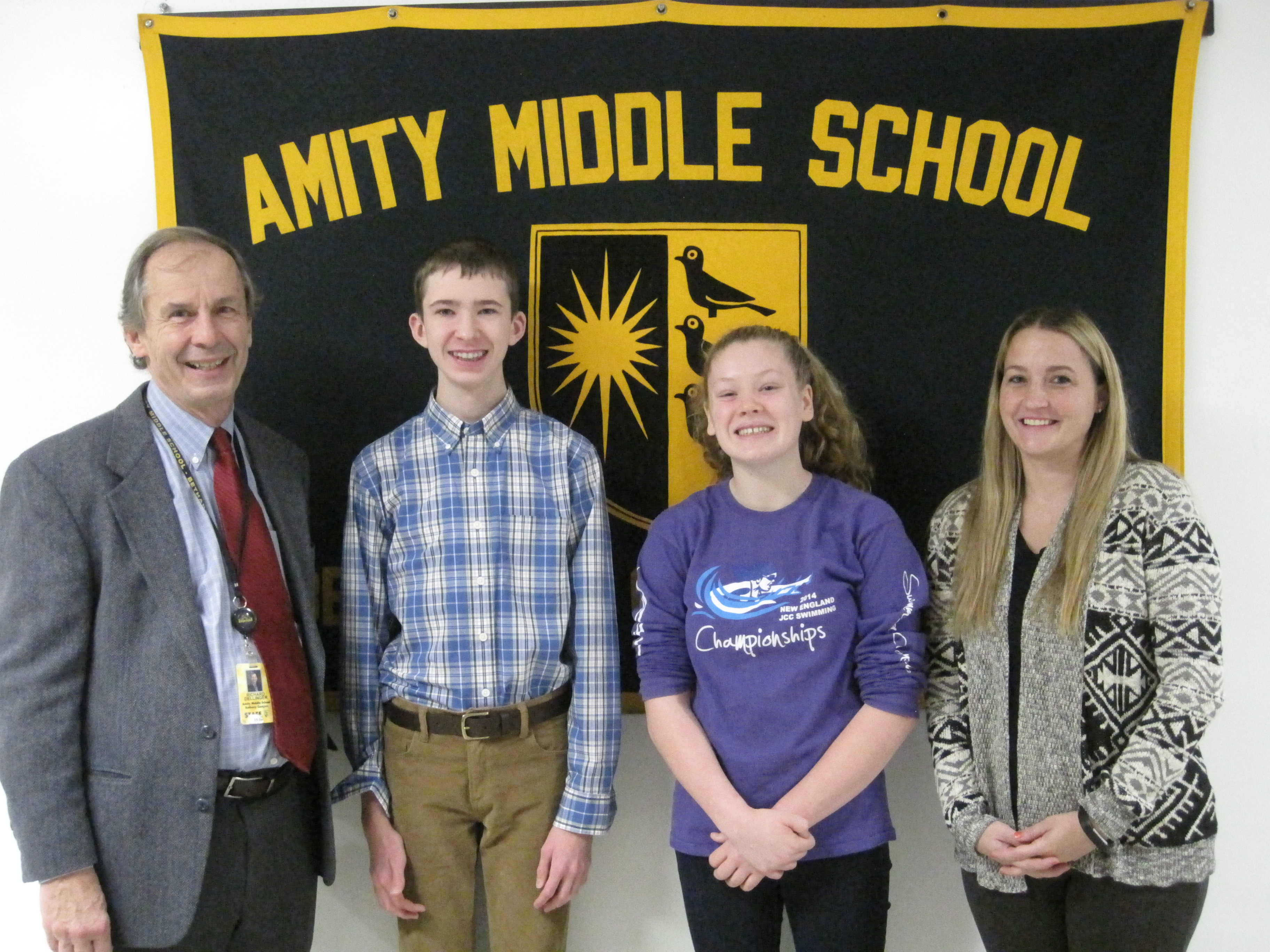 Amity Middle School in Bethany CAPSS AWARD 2018