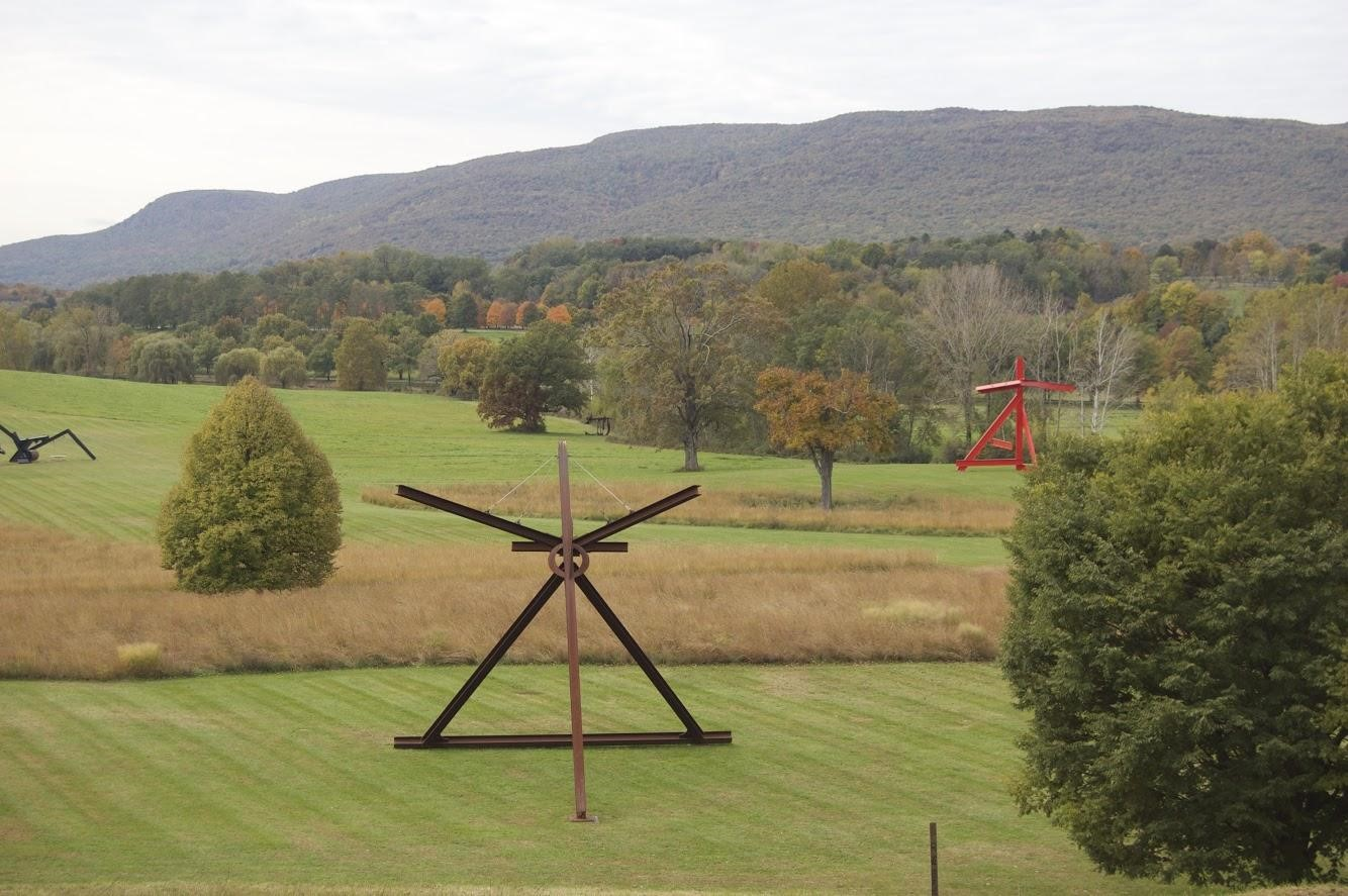 AMITY REGIONAL HIGH SCHOOL STUDENTS VISIT STORM KING ART CENTER