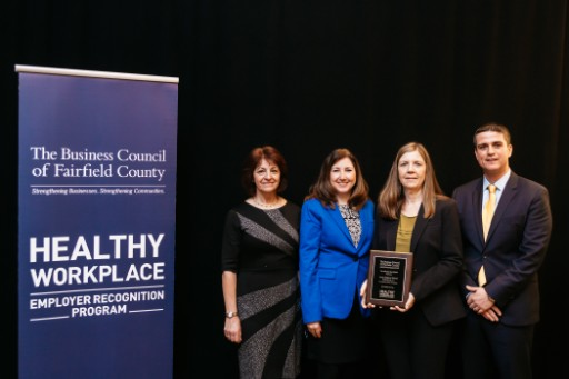 AMITY REGIONAL SCHOOL DISTRICT NO. 5  HEALTHY WORKPLACE EMPLOYER RECOGNITION  BUSINESS COUNCIL OF FAIRFIELD COUNTY