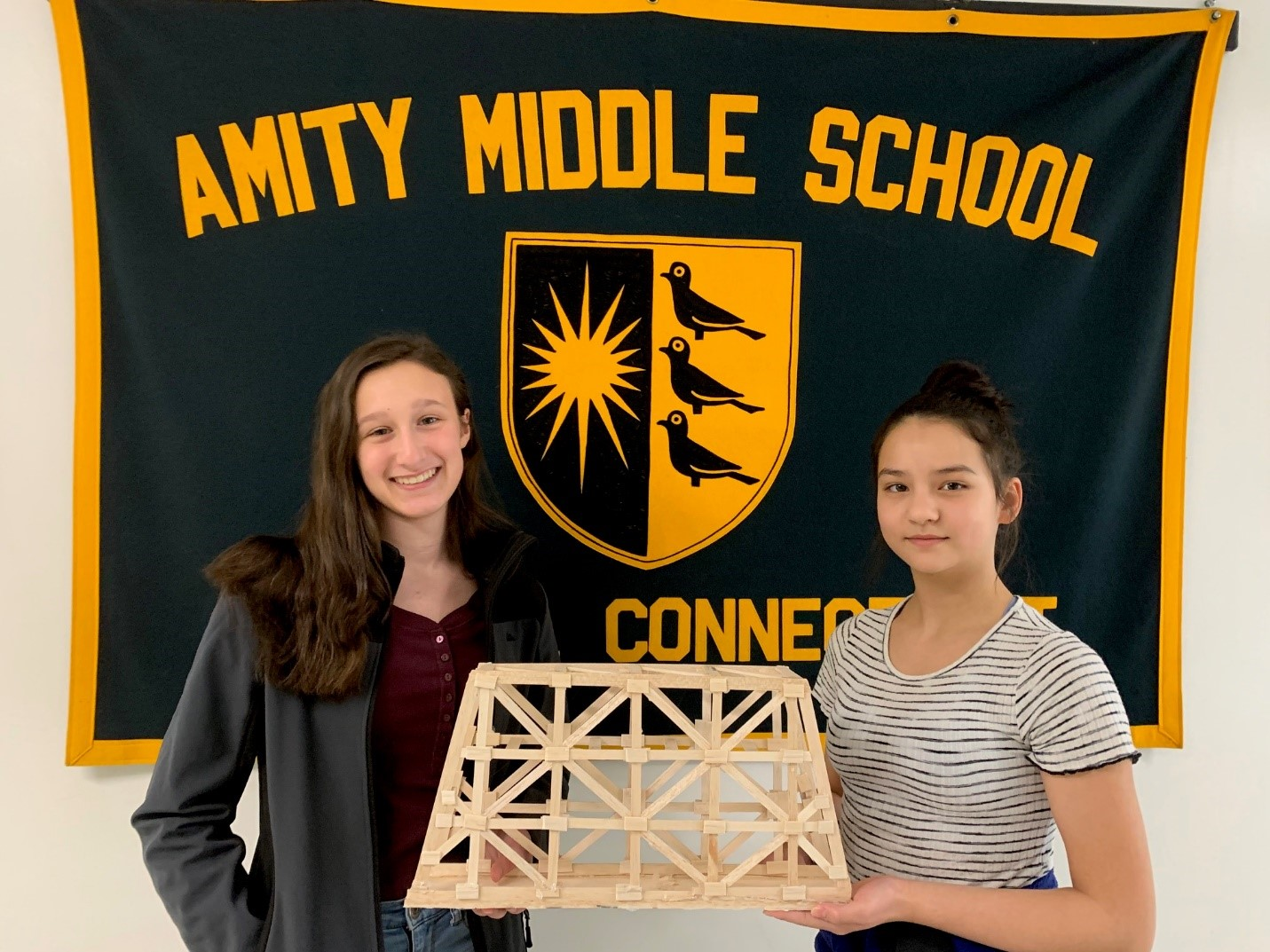 STUDENTS AT AMSB BREAK SCHOOL RECORD